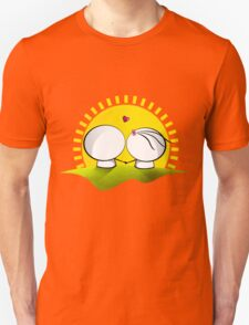 Looking at the sunset Unisex T-Shirt