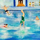 In the Pool by allwyn