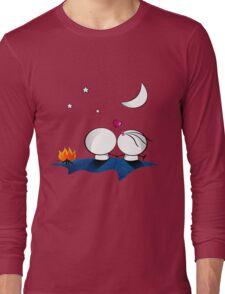 Looking at the moon Long Sleeve T-Shirt