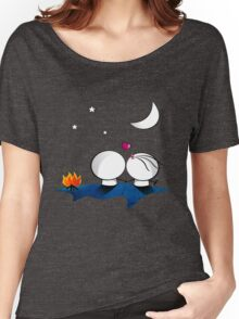 Looking at the moon Women's Relaxed Fit T-Shirt