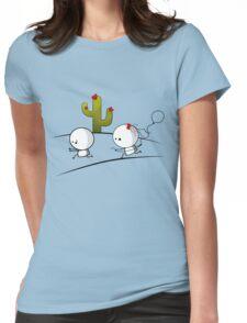 Texas Boy hunter Womens Fitted T-Shirt