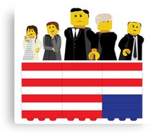 House of Cards Fan Art Canvas Print