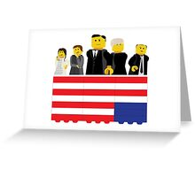 House of Cards Fan Art Greeting Card