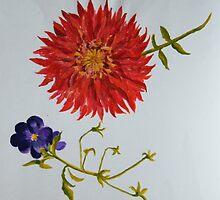Flowers in Bloom by allwyn