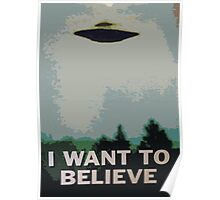I Want to Believe- X Files Poster