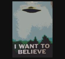 I Want to Believe- X Files Kids Clothes