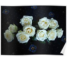 Angelic Roses Poster