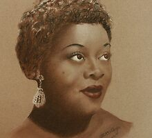 A Portrait Of Dinah Washington by Dave Ettridge