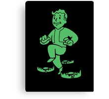 Fallout - Light Step Perk Canvas Print