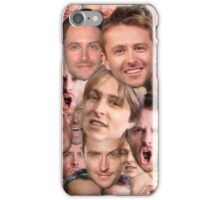 The Many Faces of Chris Hardwick iPhone Case/Skin