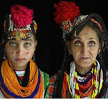 Pakistani Tribal Are Women by Amir Saeed