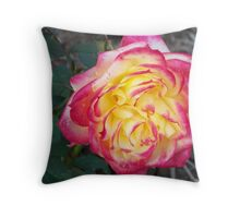 Passions Flower Throw Pillow