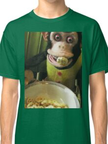 Musical Jolly Chimp Enjoys His Cereal Classic T-Shirt