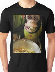 Musical Jolly Chimp Enjoys His Cereal Unisex T-Shirt