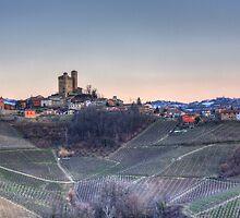 Serralunga d'Alba - Piemonte Italia by Matthew Doerr