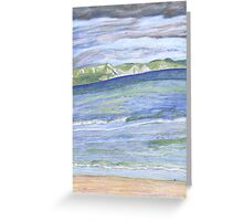 Weymouth Beach- Pencil Greeting Card