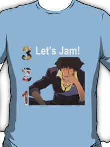 cowboy bebop spike spiegel jet faye edward anime manga shirt T-Shirt