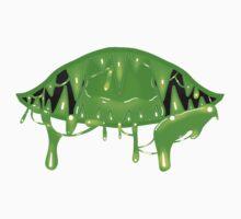 Mouth - Green Kids Tee