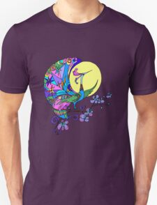 Peacock in the moon T-Shirt