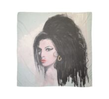 Amy Winehouse Portrait by William Wright Scarf