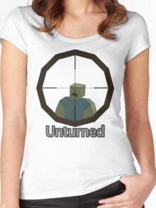 Unturned Sniping Women's Fitted Scoop T-Shirt