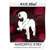 Absol: Watchful Eyes Poster