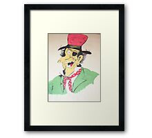 Disney character----what's his name? Framed Print