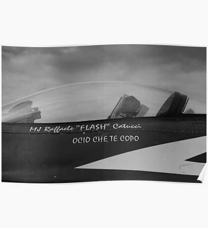 F-16 Canopy Poster