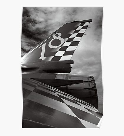 Tail Fin F-16 Poster