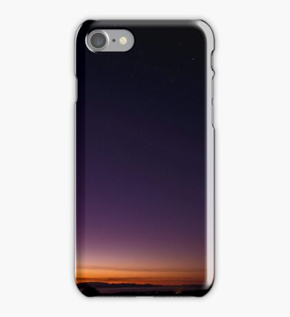 Sunrise on Mount Dandenong iPhone Case/Skin