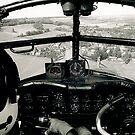 Lancaster Cockpit by David Chadderton