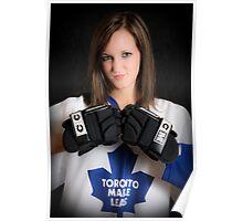 Hockey Girls Kick Ass Poster