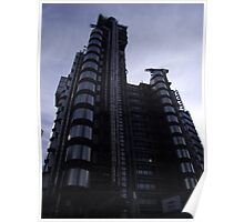 Lloyd's of London Building Poster