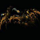 Alien Spider Lair by Sandra Moore