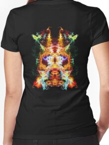 Hypnosis Women's Fitted V-Neck T-Shirt