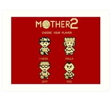 Mother 2 or Earthbound Art Print