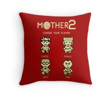 Mother 2 or Earthbound Throw Pillow