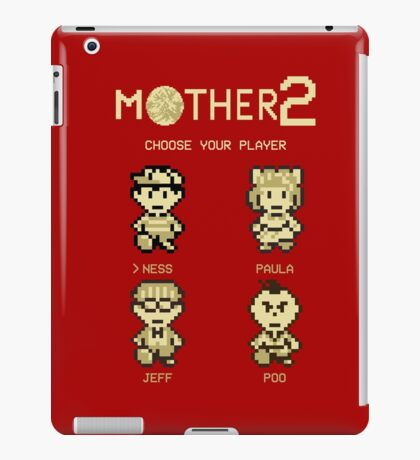 Mother 2 or Earthbound iPad Case/Skin