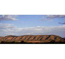 Mountain Range in Australian Outback Photographic Print