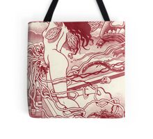 Another nightmare, another page,... the leap! Tote Bag