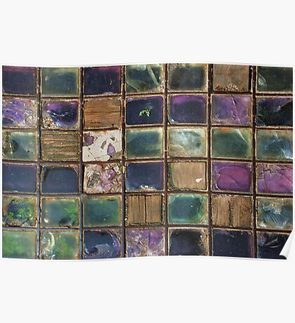 Lewes's Glass Patchwork Quilt Poster