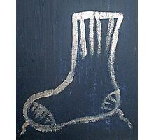 Sock Photographic Print