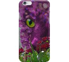Cat Among the Flowers iPhone Case/Skin