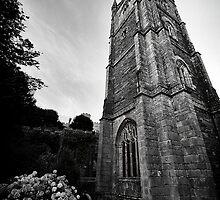 Fowey Church by Simon Marsden