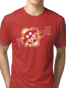 Kaboom!!! Tee + Stickers Tri-blend T-Shirt