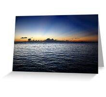 Puerto Rico Blue Greeting Card