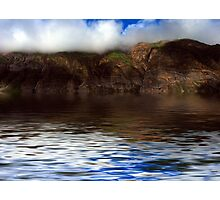 Hills Reflection On Water ! Photographic Print