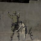 Banksy - The West Bank by Shannon Friel