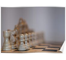 Depth of Field in a Game of Chess Poster