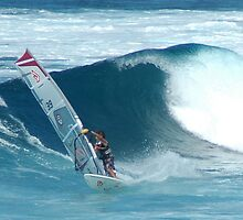Winding Surfing Maui Hawaii by ZIGSPHOTOGRAPHY
